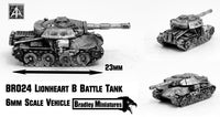 BR024 Lionheart B Battle Tank (Pack of Four or Single)