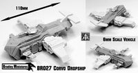 BR027 Corvo Dropship (Massive 6mm Kit 110mm long)
