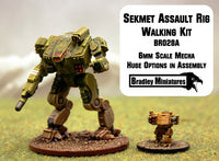 BR028A Sekhmet Assault Rig Walking (Mecha approx 50mm tall) - Many loadout choices