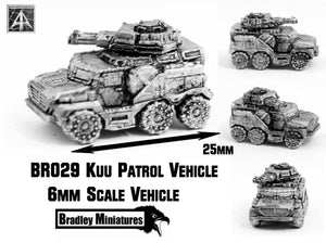 BR029 Kuu Patrol Vehicle (Pack of Four or Single)