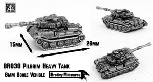 BR030 Pilgrim Heavy Tank (Pack of Four or Single)