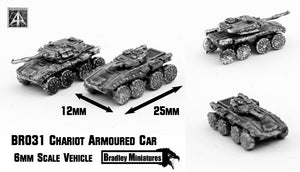 BR031 Chariot Armoured Car (Pack of Four or Single)