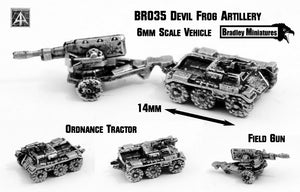 BR035 Devil Frog Artillery (Pack of Four or Single or Parts)