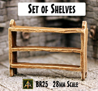BR25 Set of Shelves
