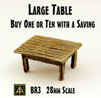 BR3 Large Table (One or Bundle of Ten with Saving)