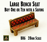 BR6 Large Bench Seat (One or Bundle of Ten with Saving)