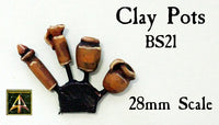 BS21 Clay Pots
