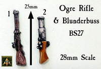 BS27 Ogre Rifle and Blunderbuss