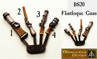 BS20 Flintloque Guns