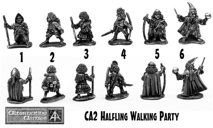 CA2 Halfling Walking Party