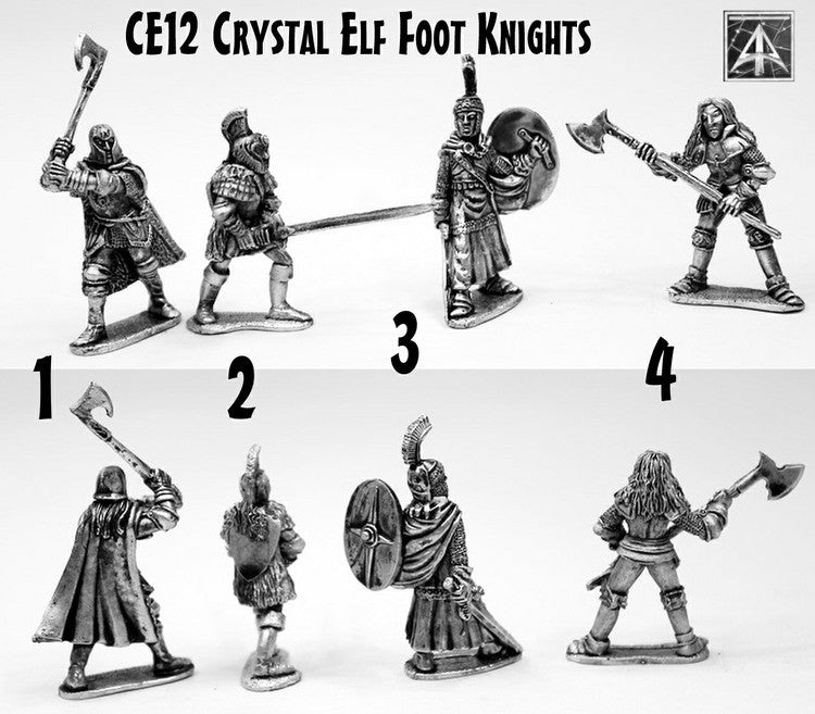 CE12 Crystal Elf Foot Knights