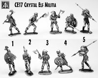 CE17 Crystal Elf Militia