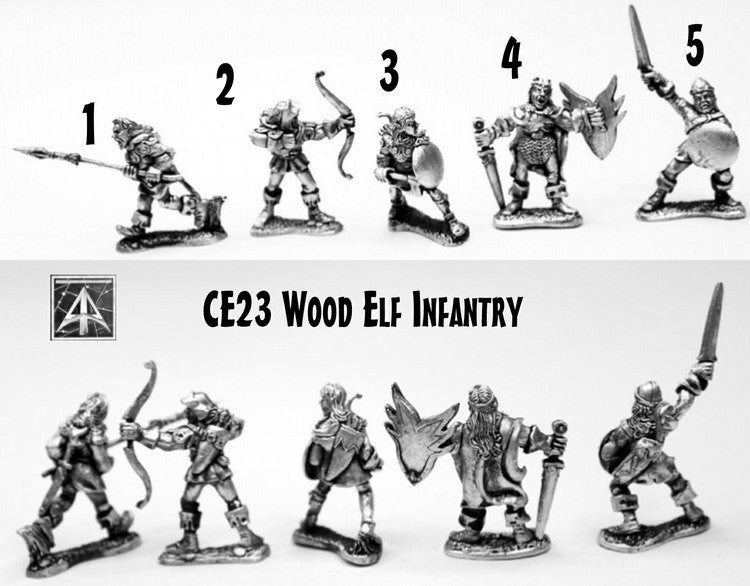 CE23 Wood Elf Infantry
