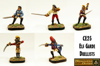 CE25 Elf Garde Duellists Pack