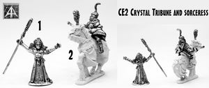 CE2 Crystal Tribune and Sorceress