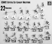 CEM02 Crystal Elf Cavalry Multitude Boxed Set - Save 10%