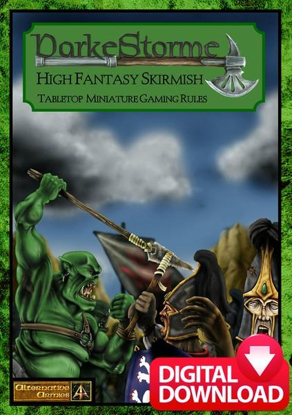 DarkeStorme Fantasy Skirmish Rules - Digital Paid Download