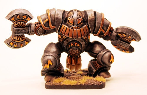 DH15 Dwarf Runic Golem (65mm tall kit)