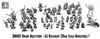 DHM01 Dwarf Multitude Miniature Set - Save 10%