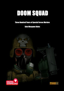 Doom Squad Solo Wargame Rules - Digital Paid Download