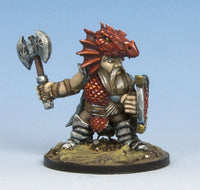 DS002 Dwarf Wyrmblight in Dragon Scale Armour