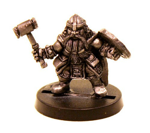 DWM008 Dwarf Warrior with Hammer