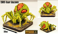 EH05 Giant Arachnids (Set of Three) - 70mm wide
