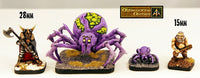 EH06 Arachnid Swarm (Set of Four) - 20mm wide