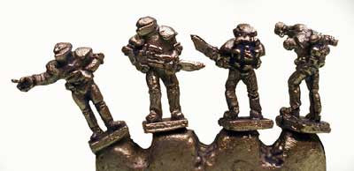 FF502 6mm Retained Troopers - 4 Miniatures