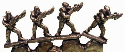 FF1002 6mm Legionaries  - 4 Miniatures