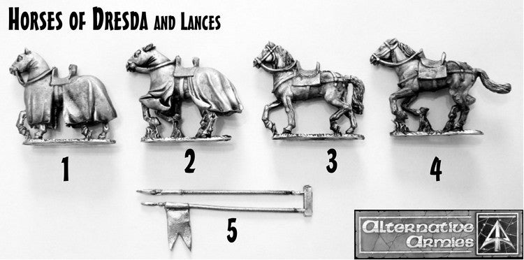 FL Dresda Horses and Lances from FL7 and FL8