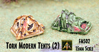 FMS02 Torn Modern Tents (2 pack)