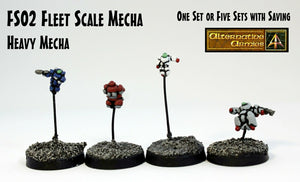 FS02 Fleet Scale Mecha - Heavy Mecha Sprue