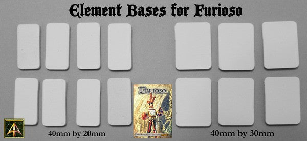 FURA00 Furioso Mega Starter Bundle (Two Armies, free bases and free rule book!)
