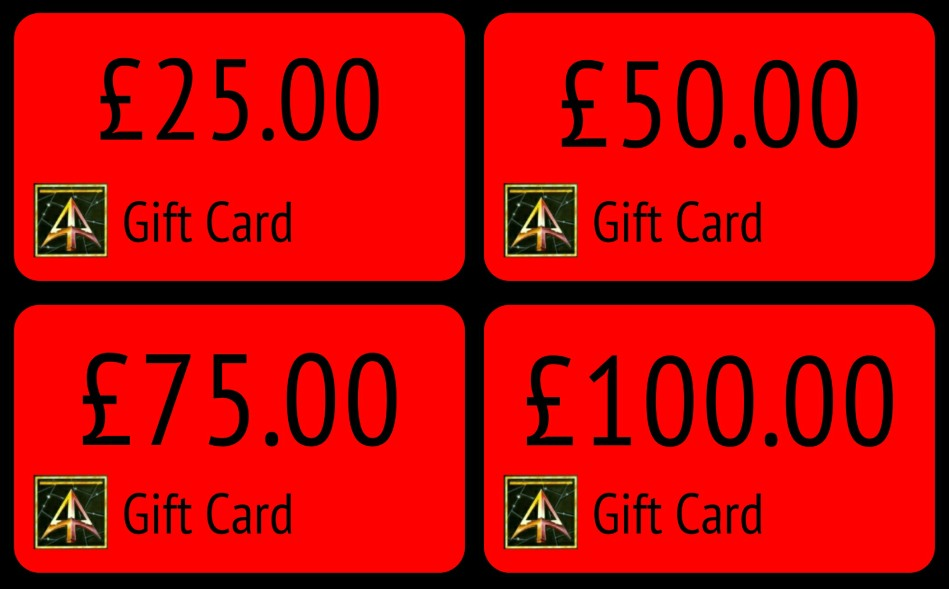 Gift Cards from Alternative Armies