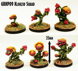 GRNP09 Klorzid Plants pack and singles