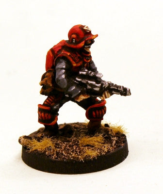 SM2 Space Marine in light space armour