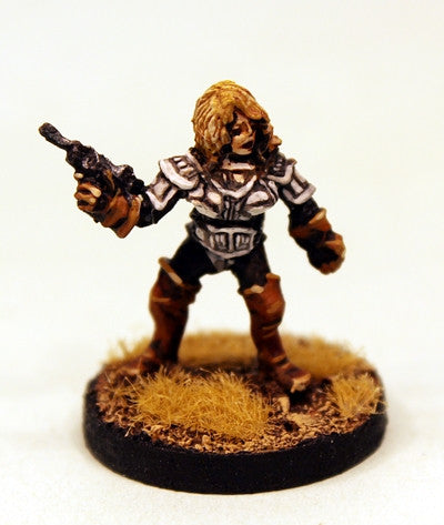 HA6 Adventuress with Laser Pistol