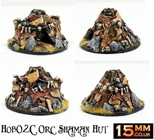 HOB2 15mm Orc Starter Saver Settlement (5 Buildings)