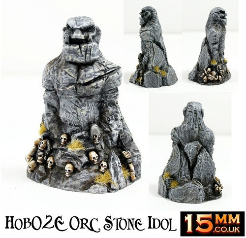 HOB2E 15mm Orc Stone Idol