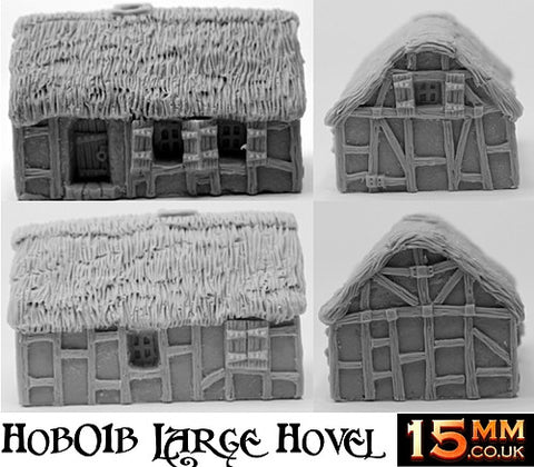 HOB1 15mm Human Starter Saver Settlement (5 Buildings)