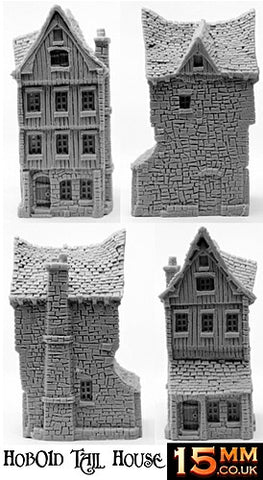 HOT58 Townsfolks Possessions now in resin 40mm Frontage - 480mm Frontage per pack