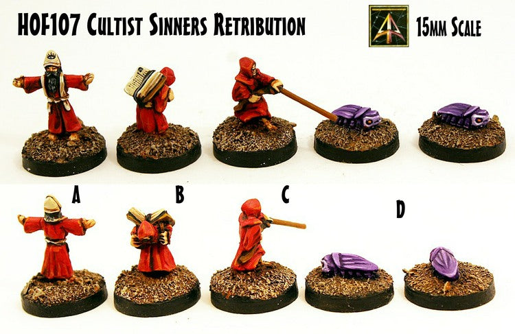 HOF107 Cultist Sinners Retribution