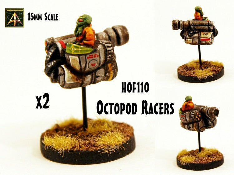 HOF110 Octopod Racers - 2 Pack
