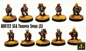 HOF112 Security Force Alpha Trooper Sprue - 25 miniatures just 10GBP