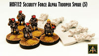 HOF112 Security Force Alpha Trooper Sprue - Buy Five and Save