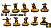 HOF113 Security Force Alpha Support Sprue - Buy Five and Save