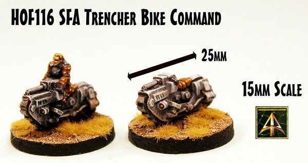 HOF116 SFA Trencher Bike Command