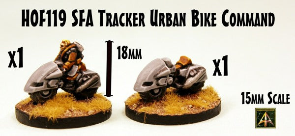 HOF119 SFA Tracker Urban Bike Command