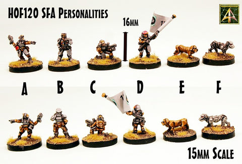 HOFA01 Security Force Alpha (Core Army Box) - Save 20% off list and choose propulsion type